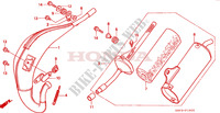 EXPANSION CHAMBER Frame 80 honda-motorcycle CR 1999 F__1500