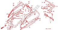 BODY COVER/REAR CARRIER Frame 50 honda-motorcycle LEAD 1992 F_16