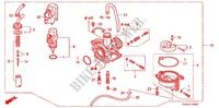CARBURETOR O.P. KIT для Honda 50 GYRO X 2004