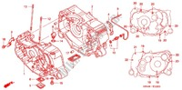 CRANKCASE/OIL PUMP Engine 350 honda-motorcycle FOURTRAX 2005 E_12