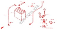 TOOLS/BATTERY BOX Frame 350 honda-motorcycle FOURTRAX 2005 F_28