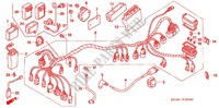 WIRE HARNESS/BATTERY Frame 350 honda-motorcycle FOURTRAX 2005 F_29
